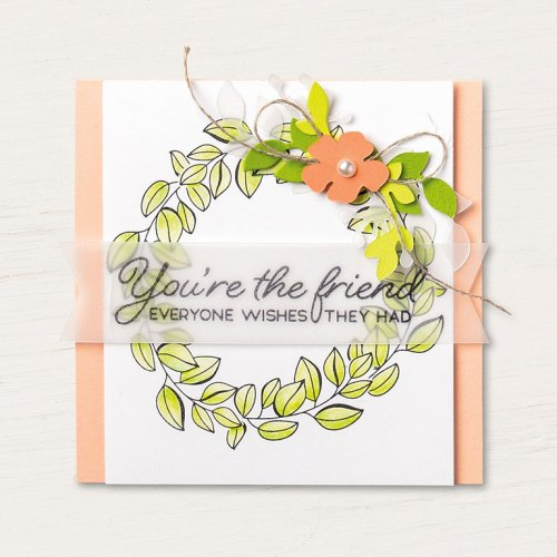Stampin' Up! Blended Seasons card idea - visit www.juststampin.com for inspiration and ordering. Jeanie Stark StampinUp