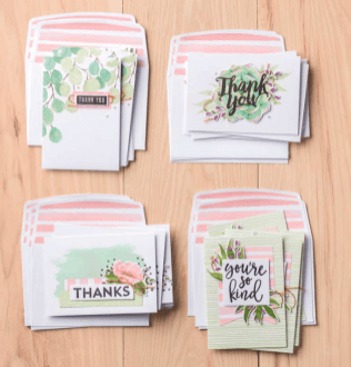 Card Kit Notes of Kindness samples