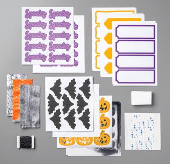 Frights & Delights Paper Pumpkin refill kit