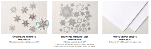 Snowflake Showcase products AWSL