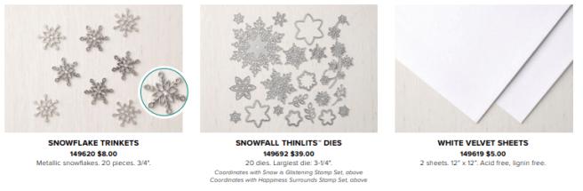 Snowflake Showcase products AWSL
