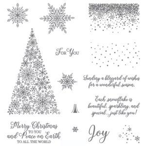 Stampin Up Snow is Glistening stamp set - Jeanie Stark StampinUp