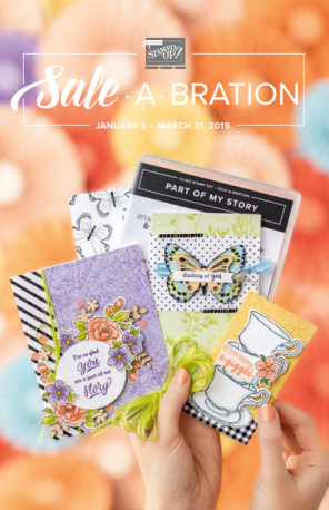 Stampin' Up! 2019 Sale-A-Bration Catalog