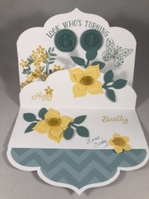 Stampin UpBirthday card idea - For more inspiration visit www.juststampin.com Jeanie Stark StampinUp
