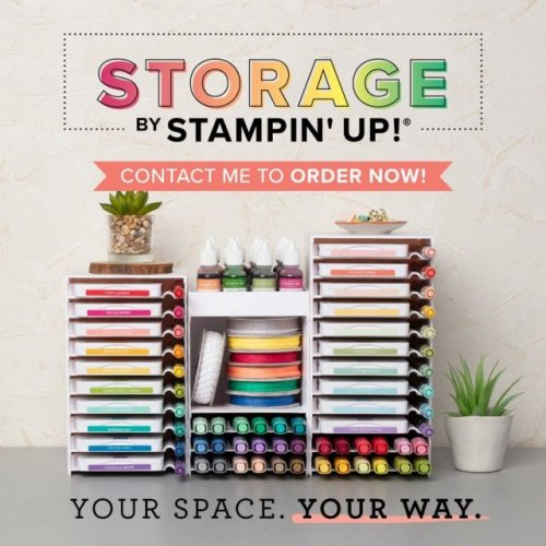 Storage by Stampin' Up! For more information or to order visit juststampin.com - Jeanie Stark StampinUp