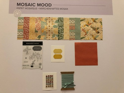Stampin' Up!Mosaic Mood Suite- For inspiration and ordering visit juststampin.com - Jeanie Stark StampinUp