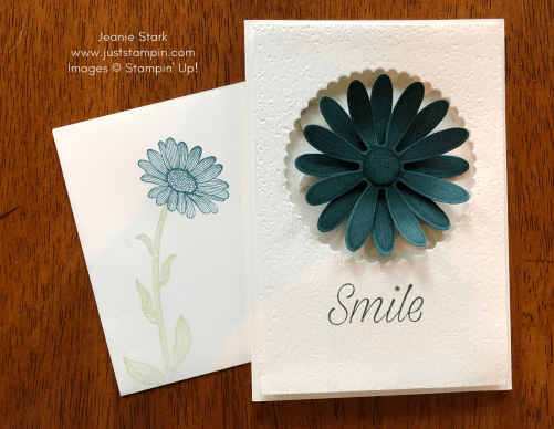 Stampin' Up! Daisy Lane In Color all occasion note card idea - Jeanie Stark StampinUp