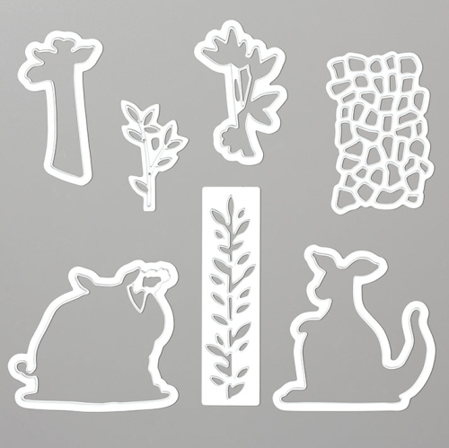 Stampin' Up! Animal Friends Dies - for inspiration and ordering information visit juststampin.com - Jeanie Stark StampinUp