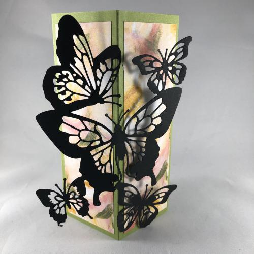 Stampin' Up! Butterfly Beauty Dies box card birthday card idea - visit juststampin.com - Jeanie Stark StampinUp