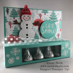 Stampin\' Up! Snowman Season Gift Card and Treat Holder idea - Jeanie Stark StampinUp