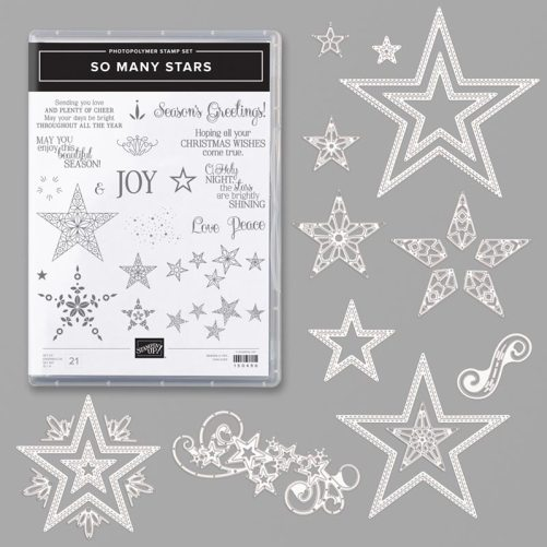 Stampin Up! So Many Stars Bundle - for inspiration and ordering information visit juststampin.com - Jeanie Stark StampinUp