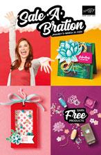 Stampin' Up! 2020 Sale-A-Bration Brochure - to order visit www.juststampin.com - Jeanie Stark StampinUp