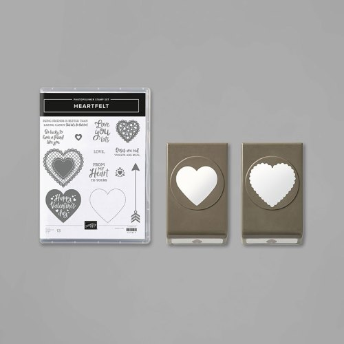 Stampin' Up! Heartfelt Bundle - for inspiration and ordering visit www.juststampin.com - Jeanie Stark StampinUp