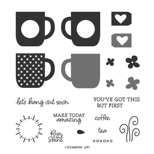 Stampin' Up! Rise and Shine Stamp Set - Free with $100 order during Sale-A-Bration - visit juststampin.com for inspiration and ordering information - Jeanie Stark StampinUp