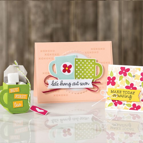 Stampin' Up! Rise and Shine all occasion card and 3D gift ideas - Jeanie Stark StampinUp