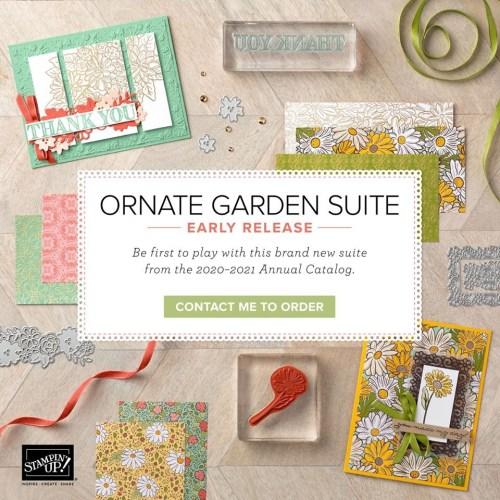 Stampin Up Ornate Garden Suite - for inspiration and ordering information visit juststampin.com - Jeanie Stark StampinUp