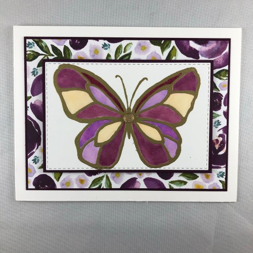 Stampin Up Beautiful Day all occasion card idea - juststampin.com - Jeanie Stark StampinUp