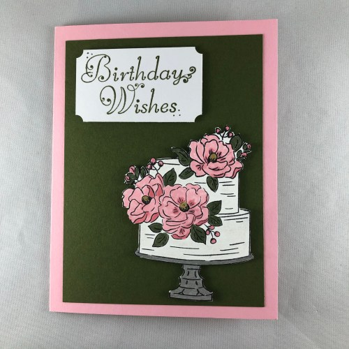 Stampin Up Happy Birthday to You birthday card idea - Jeanie Stark StampinUp
