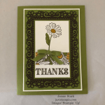 Stampin\' Up! Ornate Garden Thank You card idea - Jeanie Stark StampinUp