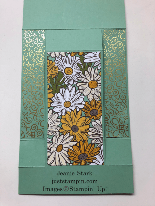 Stampin' Up! Ornate Garden Fun Fold card tutorial - Jeanie Stark StampinUp