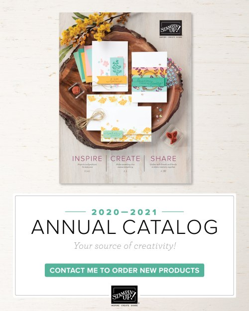 Stampin' Up! 2020-2021 Annual Catalog - visit juststampin.com for inspiration and ordering information - Jeanie Stark StampinUp