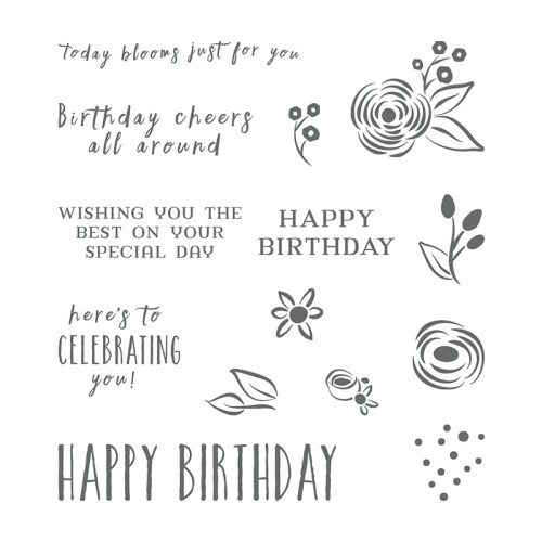 Stampin' Up! Perennial Birthday Stamp Set - for inspiration and ordering information visit juststampin.com - Jeanie Stark StampinUp