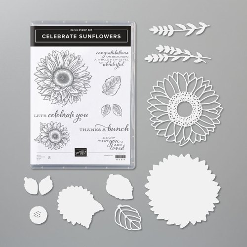 Stampin' Up! Celebrate Sunflowers Bundle - for inspiration and ordering information visit juststampin.com - Jeanie Stark StampinUp
