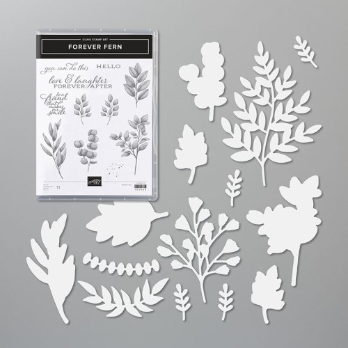 Stampin' Up! Forever Fern Bundle - for inspiration and ordering information visit juststampin.com - Jeanie Stark StampinUp