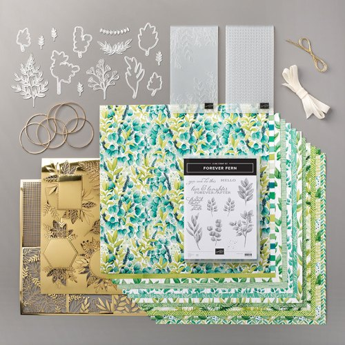 Stampin' Up! Forever Greenery Suite - visit juststampin.com for inspiration and ordering - Jeanie Stark StampinUp