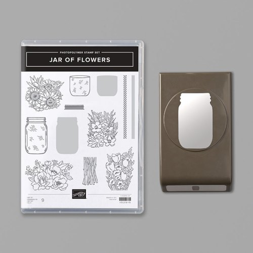 Stampin' Up! Jar of Flowers Bundle - for inspiration and ordering information visit juststampin.com - Jeanie Stark StampinUp
