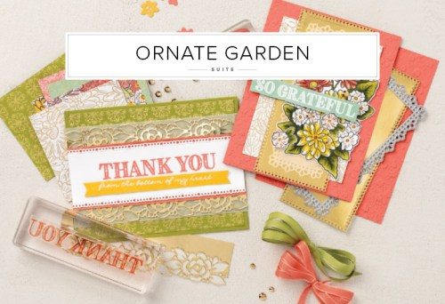 Stampin' Up! Ornate Garden Suite - visit juststampin.com for inspiration and ordering - Jeanie Stark StampinUp