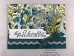 Stampin\' Up! Forever Fern Wedding Card idea - Jeanie Stark StampinUp