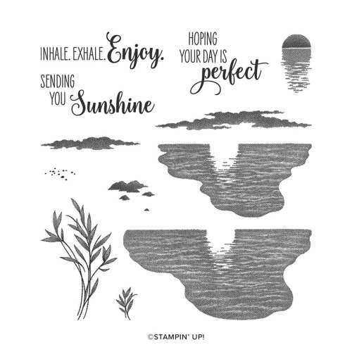 Stampin' Up Sending Sunshine stamp set is perfect for making a box of sunshine - Jeanie Stark StampinUp