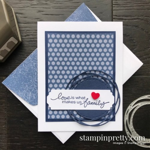 Stampin' Up! Lovely You card idea - visit my CASE version at juststampin.com - Jeanie Stark StampinUp