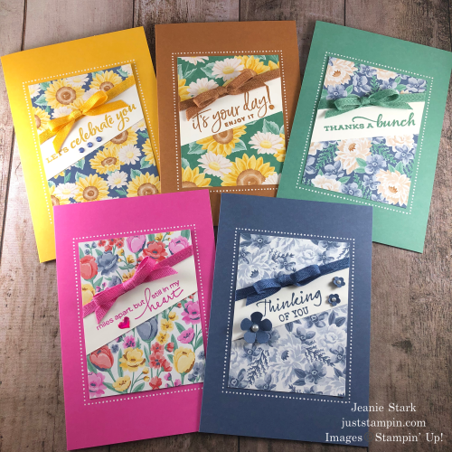 Stampin' Up! Flowers For Every Season Memories & More all occasion card ideas - Jeanie Stark StampinUp