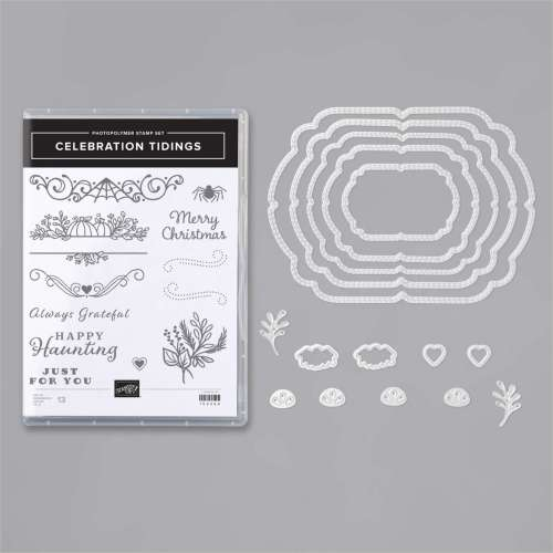 Stampin' Up! Celebration Tidings Bundle - for inspiration and ordering information visit juststampin.com - Jeanie Stark StampinUp