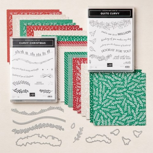 Stampin' Up! Curvy Celebrations Bundle- visit juststampin.com for inspiration and ordering information - Jeanie StarkStampinUp