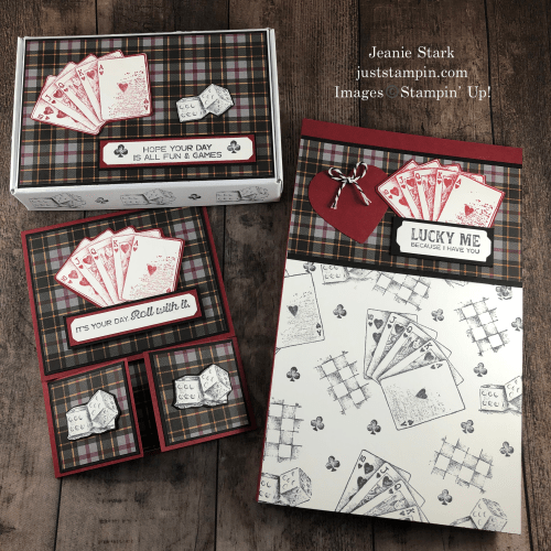 Stampin' Up! Game On birthday card and gift ideas- Jeanie Stark StampinUp