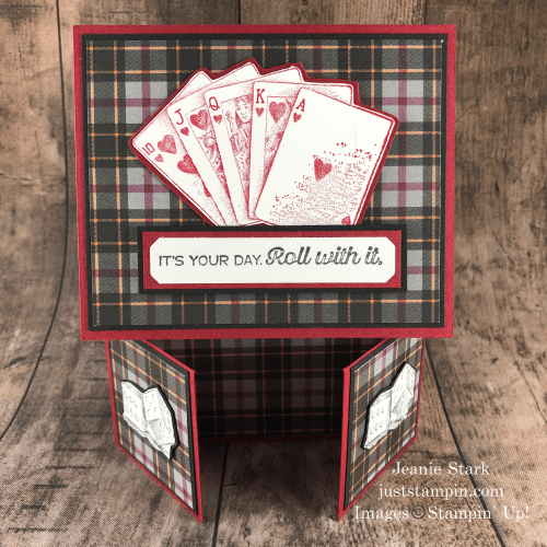 Stampin' Up! Game On masculine birthday card idea- Jeanie Stark StampinUp