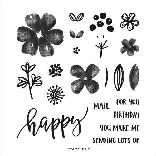 Stampin' Up! Pretty Perennials Stamp Set - visit juststampin.com for inspiration, free tutorials, and more - Jeanie Stark StampinUp