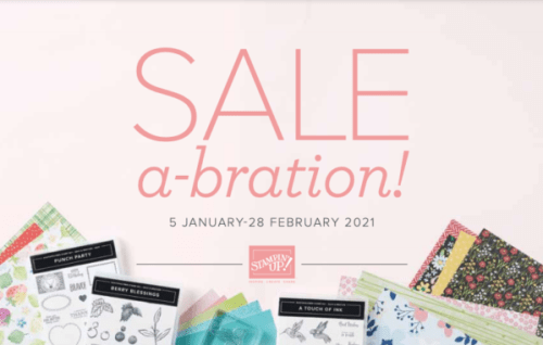 Stampin' Up!'s Biggest Sale of the YEar! Free products! Visit juststampin.com - Jeanie Stark StampinUp