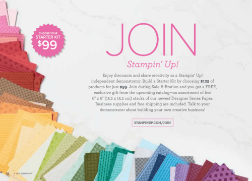 Join Stampin' Up! - visit juststampin.com to find out more - Jeanie Stark StampinUp