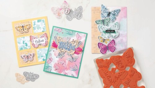 Stampin' Up! Butterfly Bouquet ideas - Jeanie Stark StampinUp