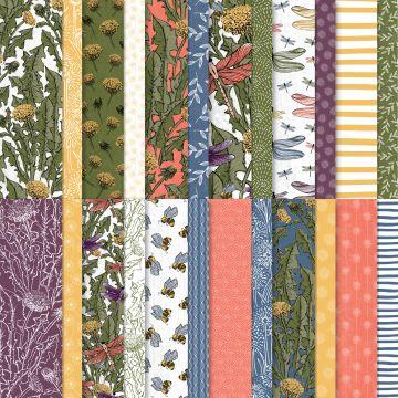 Stampin' Up! Dandy Garden 6 x 6 Designer Series Paper - visit juststampin.com for inspiration and more - Jeanie Stark StampinUp