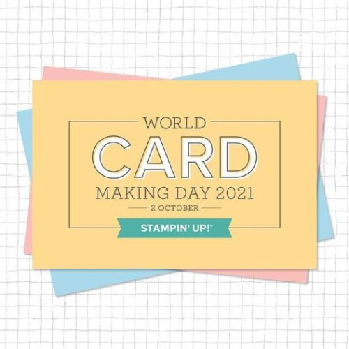 Stampin' Up! World Card making Day - visit juststampin.com for inspiration and a special offer! - Jeanie Stark StampinUp