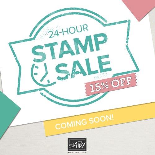 Stampin' Up! 24-Hour Stamp Sale - visit juststampin.com for more details - Jeanie Stark StampinUp