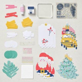 Stampin' Up! Love, Santa Tag Kit - visit juststampin.com for details and more! -Jeanie Stark StampinUp