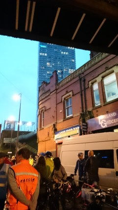 Messing about at Deansgate