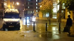 Police at Deansgate