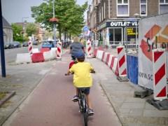 Heading out of Utrecht on Amsterdamsestraatweg